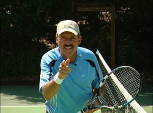Alan Margot on the court